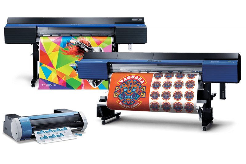 Photo of Digital printing for four-color marking